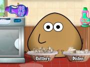 پو – بازی آنلاین شستشوی ظروف توسط POU